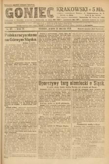 Goniec Krakowski. 1921, nr67
