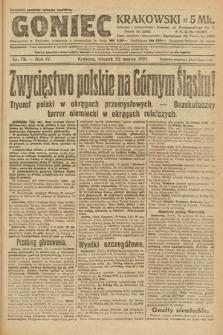 Goniec Krakowski. 1921, nr78