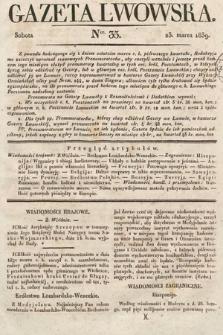 Gazeta Lwowska. 1839, nr35