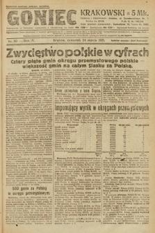 Goniec Krakowski. 1921, nr80