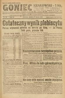 Goniec Krakowski. 1921, nr81