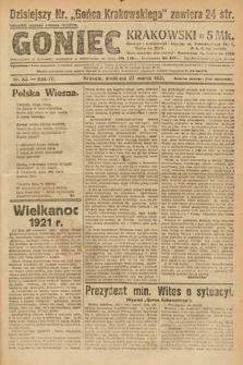 Goniec Krakowski. 1921, nr83