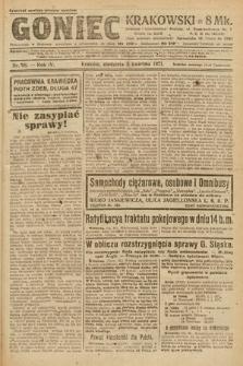 Goniec Krakowski. 1921, nr88