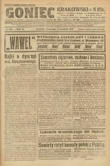 Goniec Krakowski. 1921, nr91