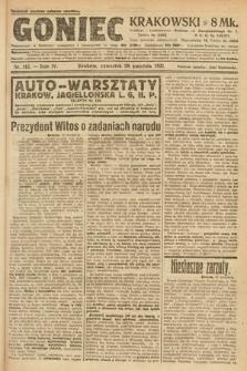 Goniec Krakowski. 1921, nr112
