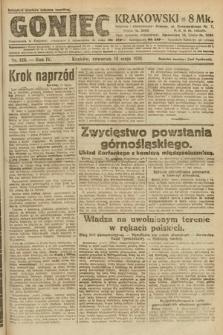 Goniec Krakowski. 1921, nr126