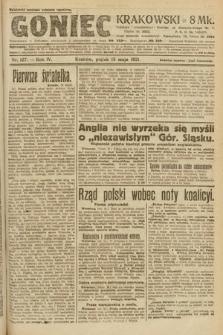 Goniec Krakowski. 1921, nr127