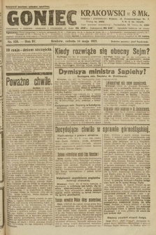 Goniec Krakowski. 1921, nr128