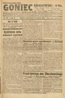 Goniec Krakowski. 1921, nr157