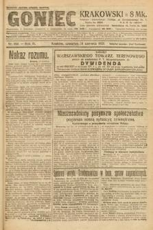 Goniec Krakowski. 1921, nr160
