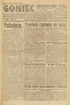 Goniec Krakowski. 1921, nr161