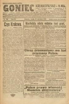 Goniec Krakowski. 1921, nr166