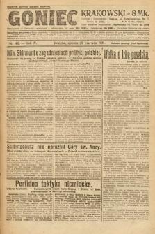Goniec Krakowski. 1921, nr169