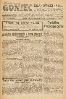 Goniec Krakowski. 1921, nr170
