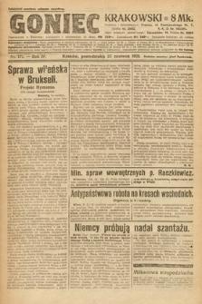 Goniec Krakowski. 1921, nr171