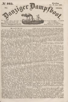 Danziger Dampfboot. Jg.23, № 165 (19 Juli 1853)