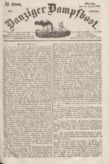 Danziger Dampfboot. Jg.23, № 188 (15 August 1853)