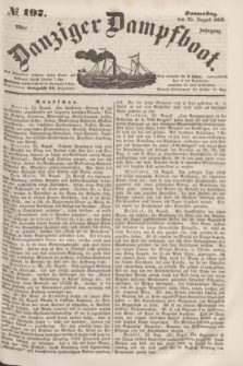 Danziger Dampfboot. Jg.23, № 197 (25 August 1853)