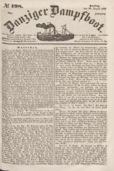 Danziger Dampfboot. Jg.23, № 198 (26 August 1853)