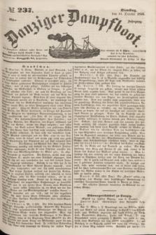 Danziger Dampfboot. Jg.23, № 237 (11 October 1853)