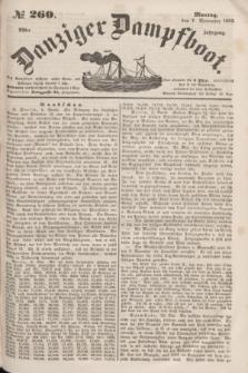 Danziger Dampfboot. Jg.23, № 260 (7 November 1853)