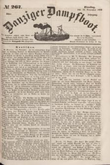Danziger Dampfboot. Jg.23, № 267 (15 November 1853)