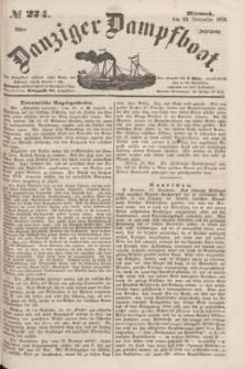 Danziger Dampfboot. Jg.23, № 274 (23 November 1853)