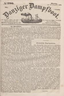 Danziger Dampfboot. Jg.23, № 290 (12 Dezember 1853)