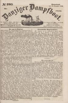 Danziger Dampfboot. Jg.23, № 295 (17 Dezember 1853)