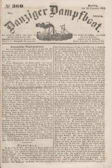 Danziger Dampfboot. Jg.23, № 300 (23 Dezember 1853)