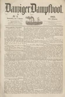 Danziger Dampfboot. Jg.31, № 2 (3 Januar 1861)