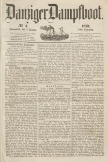 Danziger Dampfboot. Jg.31, № 4 (5 Januar 1861)