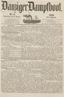 Danziger Dampfboot. Jg.31, № 8 (10 Januar 1861)