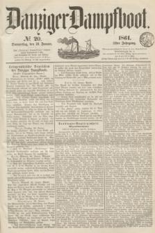 Danziger Dampfboot. Jg.31, № 20 (24 Januar 1861)