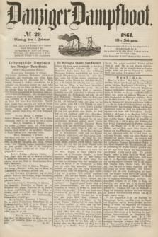 Danziger Dampfboot. Jg.31, № 29 (4 Februar 1861)