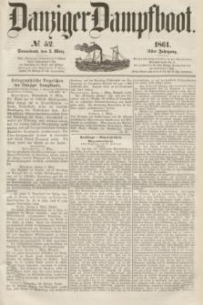 Danziger Dampfboot. Jg.31, № 52 (2 März 1861)
