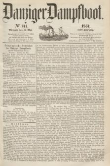 Danziger Dampfboot. Jg.31, № 111 (15 Mai 1861)