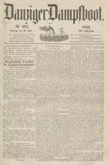 Danziger Dampfboot. Jg.31, № 174 (29 Juli 1861)