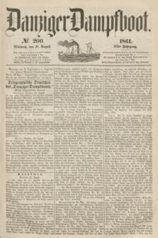 Danziger Dampfboot. Jg.31, № 200 (28 August 1861)