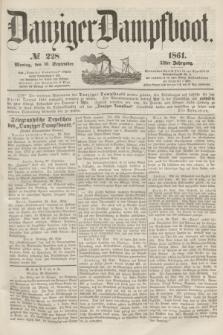 Danziger Dampfboot. Jg.31, № 228 (30 September 1861)