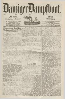 Danziger Dampfboot. Jg.31, № 283 (3 Dezember 1861)
