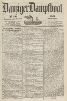 Danziger Dampfboot. Jg.31, № 287 (7 Dezember 1861)
