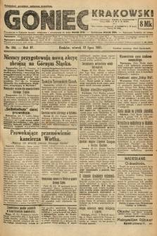 Goniec Krakowski. 1921, nr186