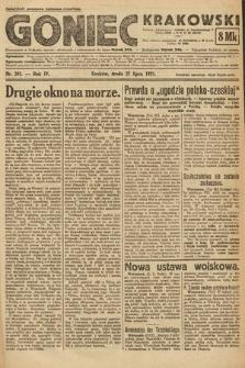 Goniec Krakowski. 1921, nr201