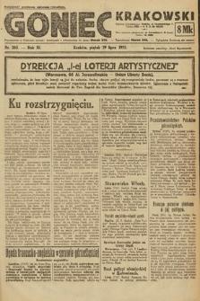 Goniec Krakowski. 1921, nr203
