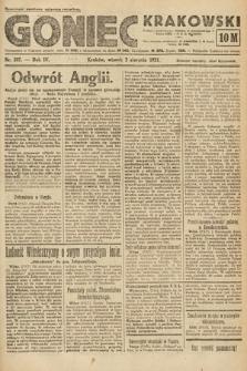 Goniec Krakowski. 1921, nr207