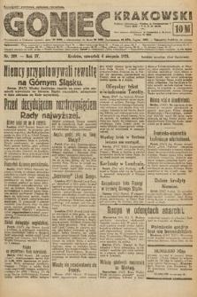 Goniec Krakowski. 1921, nr209