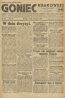 Goniec Krakowski. 1921, nr214