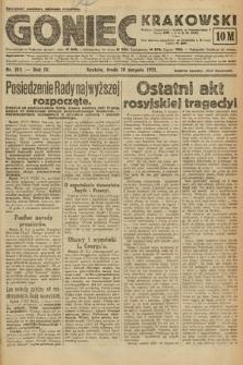 Goniec Krakowski. 1921, nr215