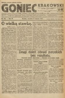 Goniec Krakowski. 1921, nr216